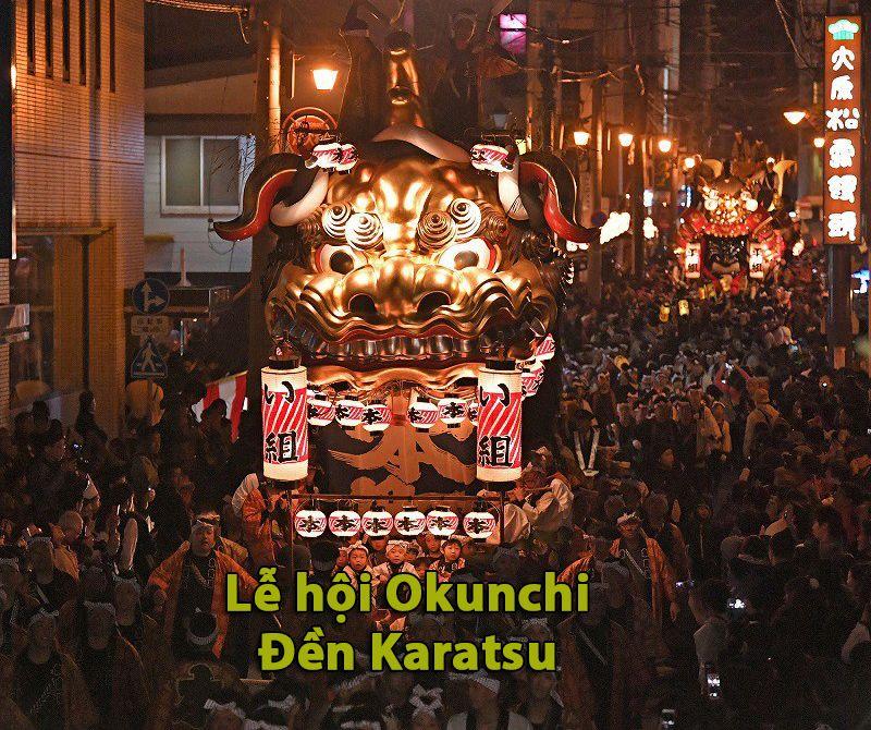 Lễ hội Okunchi, Karatsu, Saga