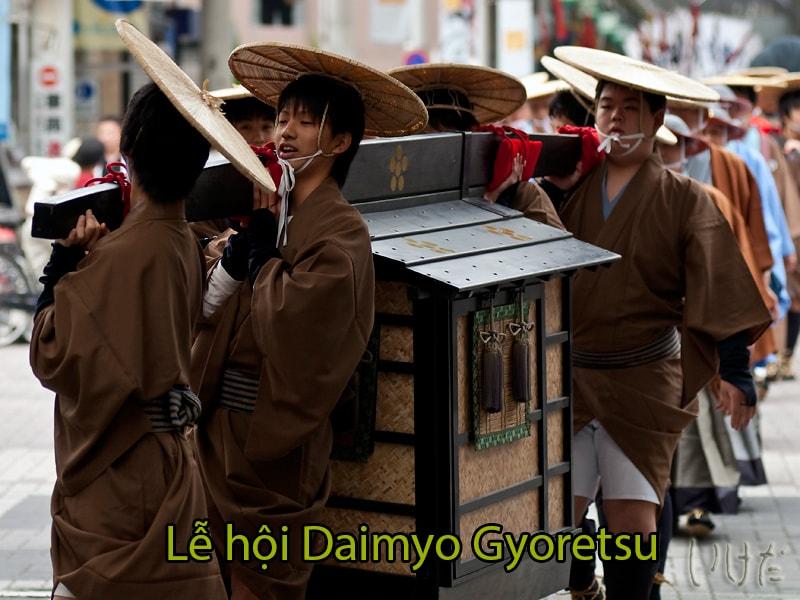 Lễ hội Daimyo Gyoretsu tái hiện đám rước daimyo