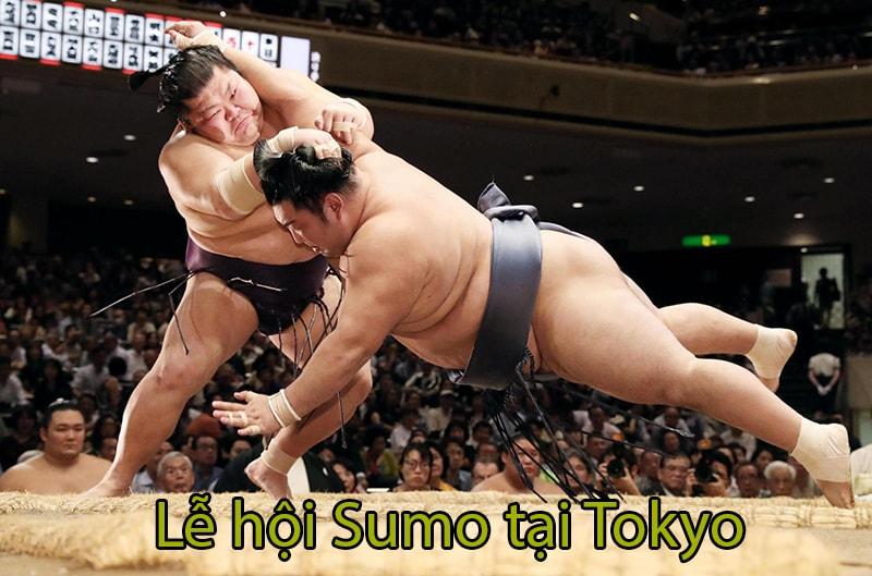 Lễ hội Sumo tại Tokyo