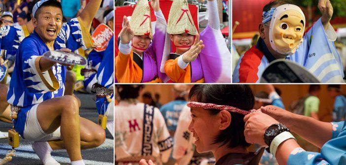 Lễ hội Awa Odori Matsuri - Lễ hội nhảy múa của người Nhật
