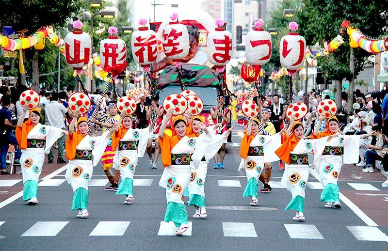 Lễ hội Hanagasa Matsuri thu hút hơn 1 triệu du khách mỗi năm