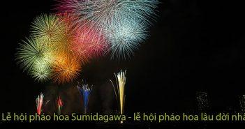 Lễ hội pháo hoa Sumidagawa - lễ hội pháo hoa lâu đời nhất