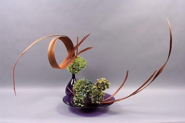 Ikebana thể hiện được nhiều ý đồ khác nhau trong cuộc sống