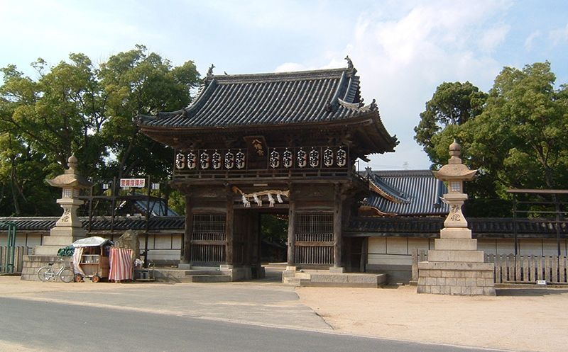 Đền Matsubara Hachiman,Himeji,Hyogo, Nhật Bản