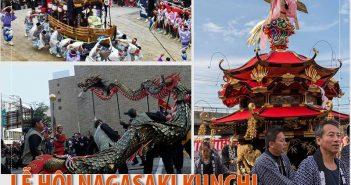 Lễ hội Nagasaki Kunchi - lễ hội mùa thu lớn nhất vùng Kyushu