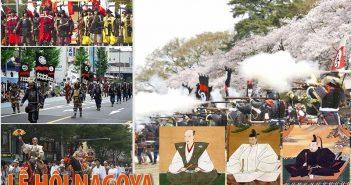 Lễ hội Nagoya - Lễ hội về 3 anh hùng Samurai vĩ đại của Nhật Bản
