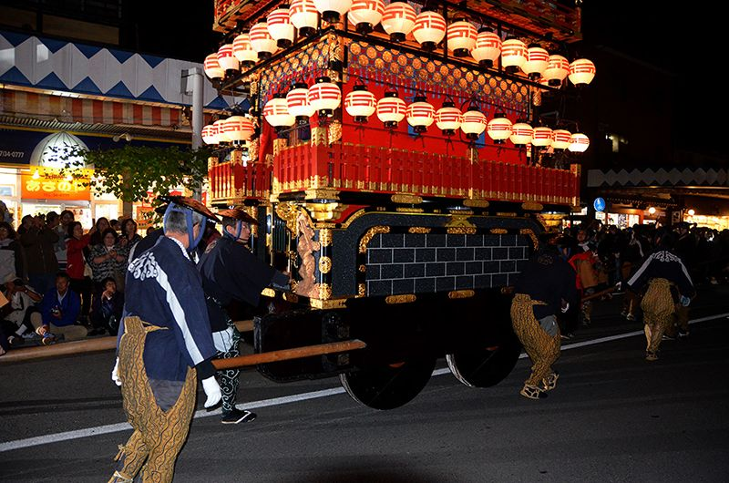 Nguồn gốc lễ hộiTakayama tại Hachimangu