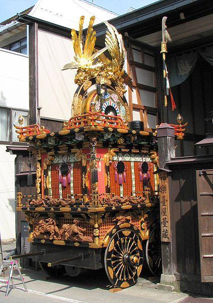 Lễ hội Takayama tại Hachimangungày nay