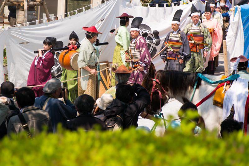 Một số nhân vật trong lễ hội mùa thu Toshugo