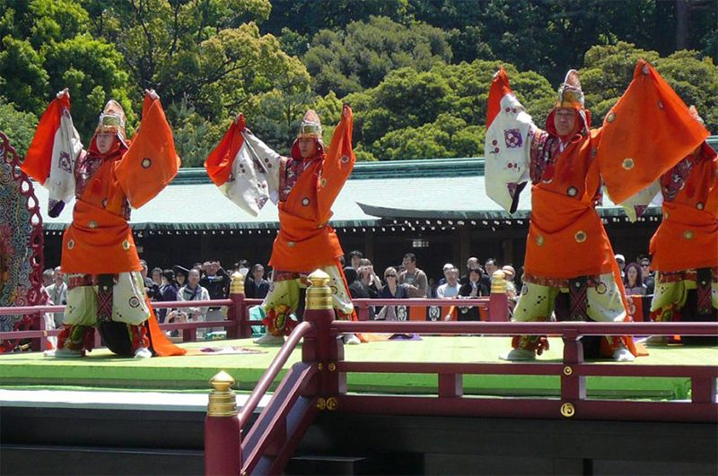 Lễ hội âm nhạc truyền thống trong lễ hội Toshogu