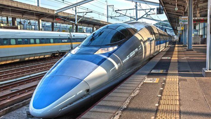 Tàu cao tốc Shinkanse - Biểu tượng của Nhật Bản