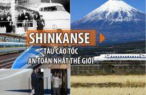 Tàu cao tốc Shinkanse - niềm tự hào của người dân Nhật Bản