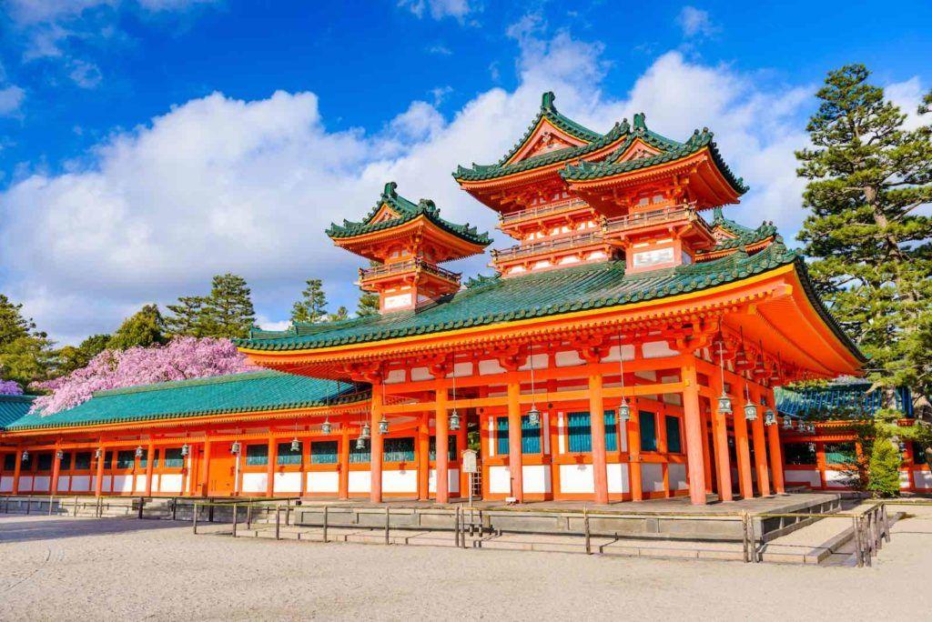 Đền Heian - Kyoto
