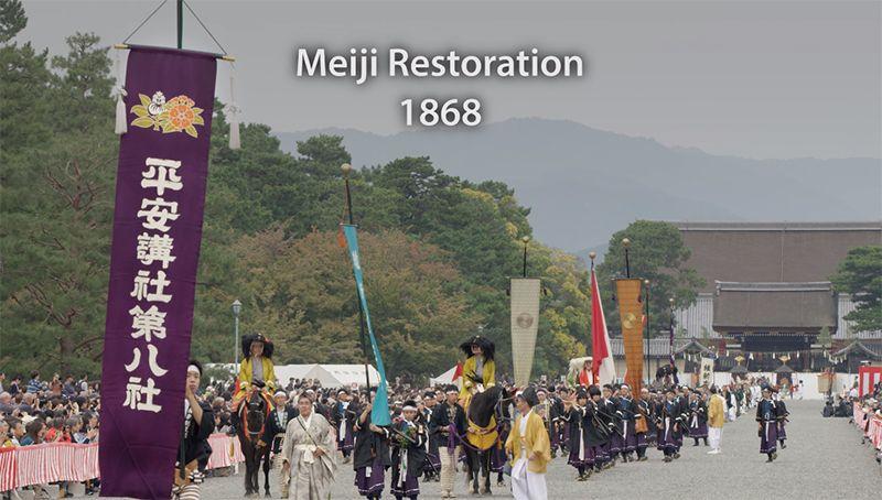 Thời kỳ Meiji những năm 1868