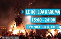 Lễ hội lửa Kurama - lễ hội của sự cuồng nhiệt