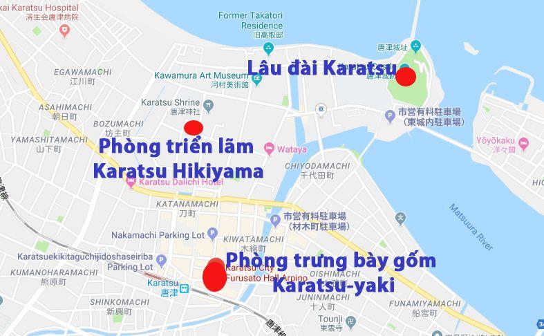 Các địa điểm tham quan nổi tiếng trong thành phố Karatsu