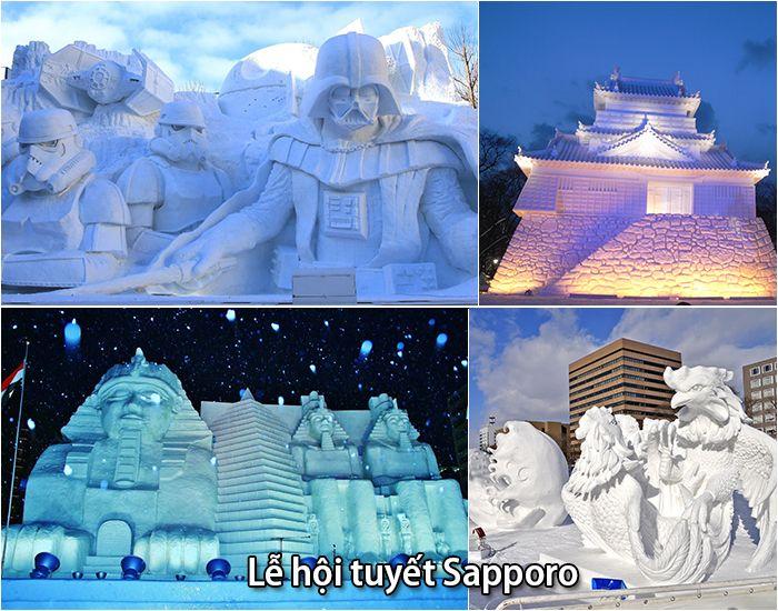 Lễ hội băng tuyết Sapporo