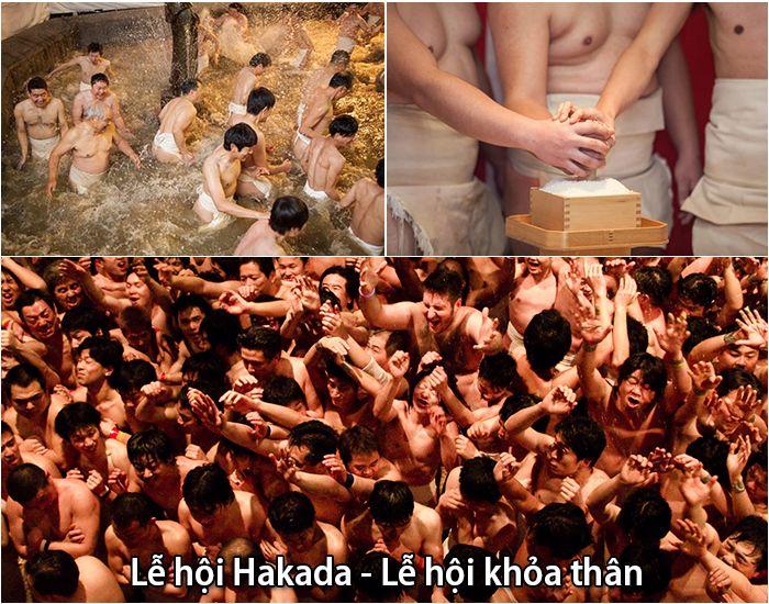 Lễ hội khỏa thân Hakada kỳ lạ của Nhật