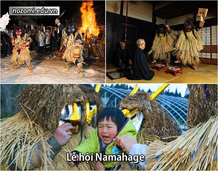 Lễ hội Namahage của Nhật Bản