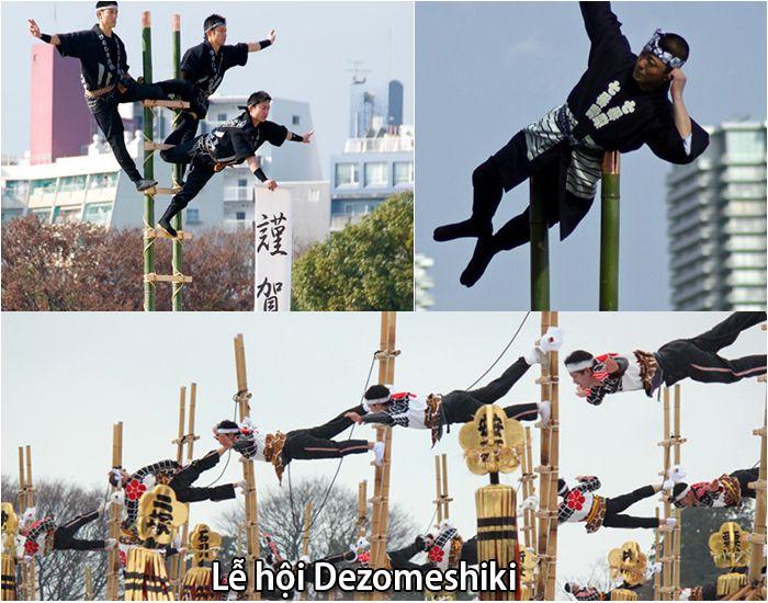 Lễ hội Dezomeshiki tại Tokyo