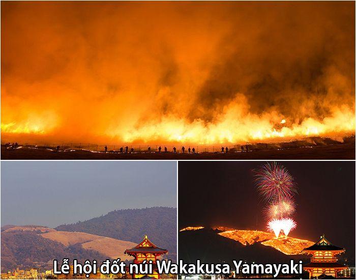 Lễ hội đốt núiWakakusa Yamayaki