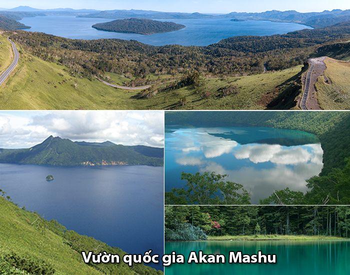Vườn quốc gia Akan Mashu, Kushiro, Hokkaido