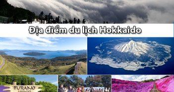 10 địa điểm du lịch Hokkaido có cảnh đẹp thiên nhiên khó quên