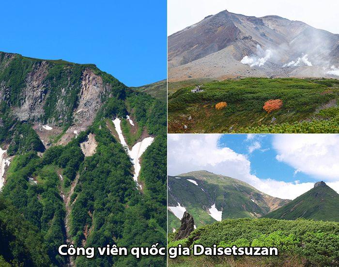 Công viên quốc giaDaisetsuzan, Hokkaido