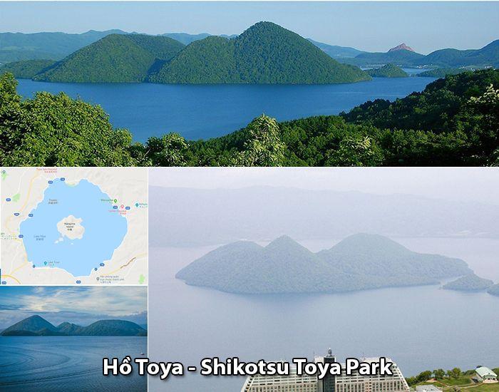 Hồ Toya, Shikotsu Toya, Chitose, Hokkaido