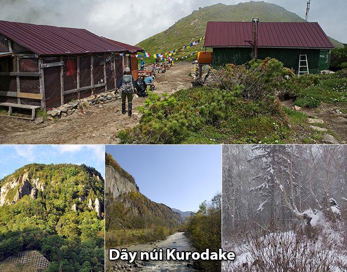 Dãy núiKurodake, Otobe, Hokkaido