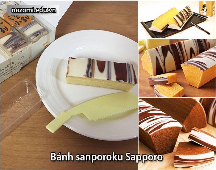 BánhSanporoku với những nguyên liệu từ các vùng đất Hokkaido