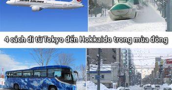 4 cách đi từ Tokyo đến Hokkaido thuận tiện nhất trong mùa đông