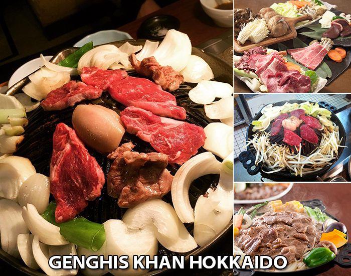 Genghis Khan - món thịt cừu nướng nổi tiếng của Hokkaido