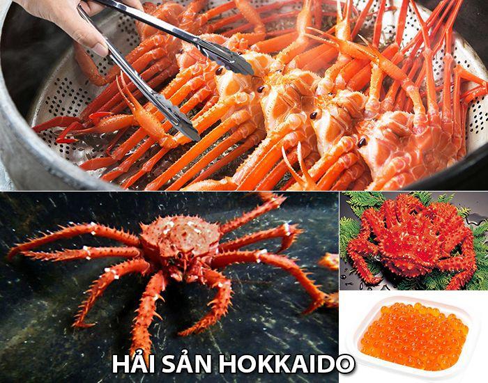 Hải sản của Hokkaido nổi tiếng nhất
