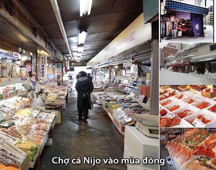 Chợ cáNijo ngày mùa đông