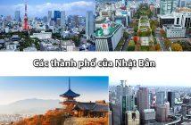 Danh sách tất cả các thành phố của Nhật Bản hiện nay