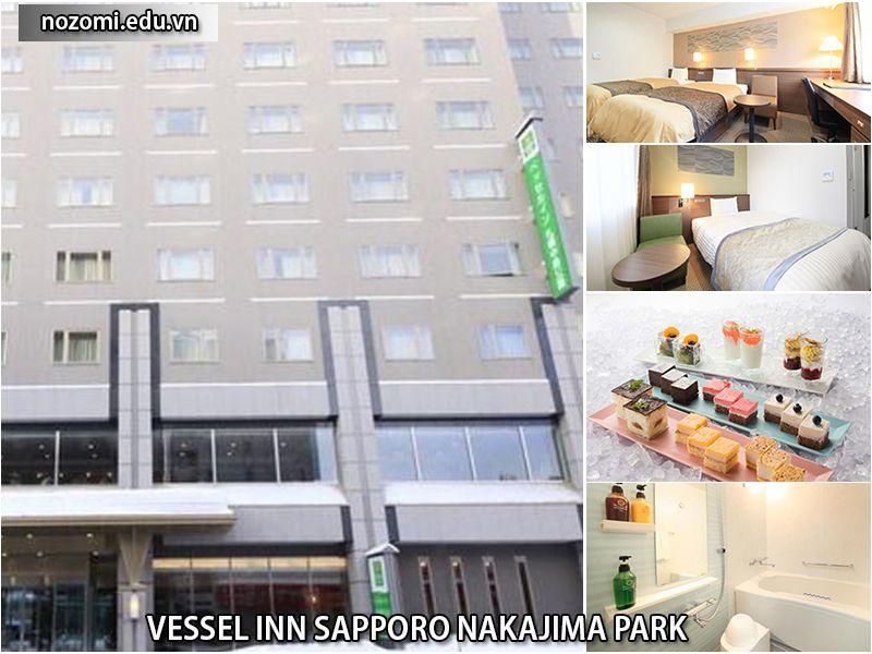 Khách sạnVessel Inn Sapporo Nakajima Park