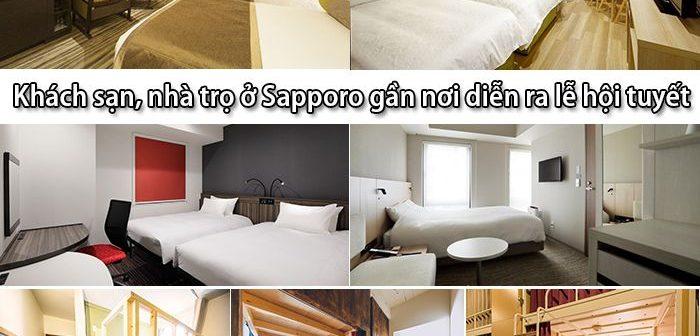 Top 10 khách sạn, nhà trọ ở Sapporo gần nơi diễn ra lễ hội tuyết