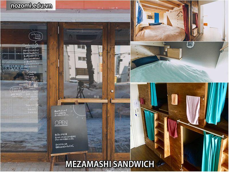 Nhà trọMezamashi Sandwich