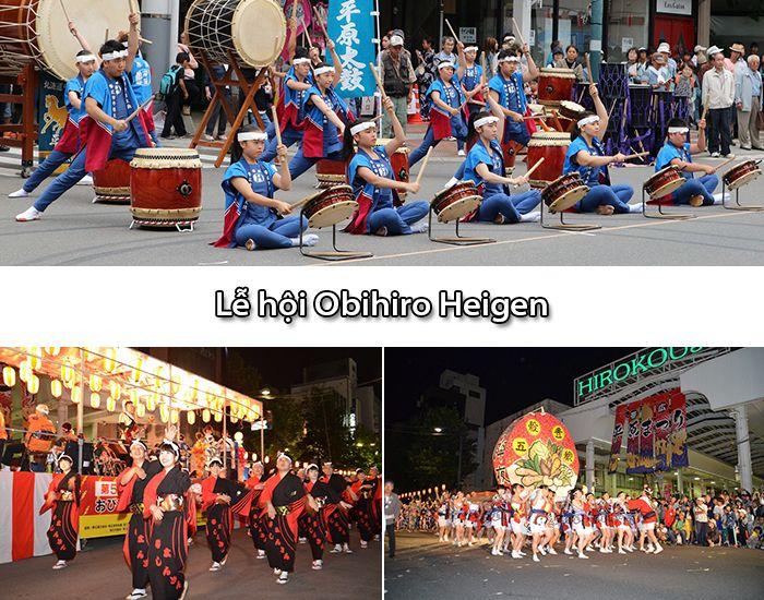 Lễ hội Obihiro Heigen ở Hokkaido