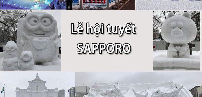 Lễ hội tuyết Sapporo có phải là điểm đến cho chuyến du xuân 2019?