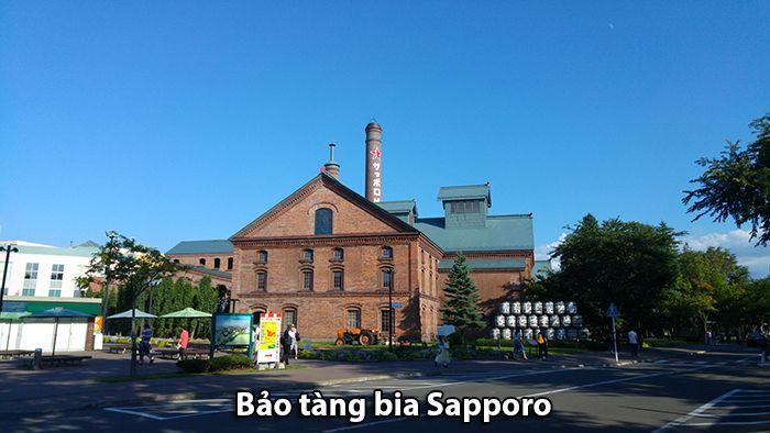 Bảo tàng bia Sapporo - Minh chứng lịch sử cho nhãn hiệu bia lâu đời nhất Nhật Bản