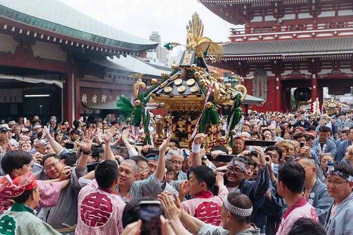 Lễ hội Sanja tại Tokyo