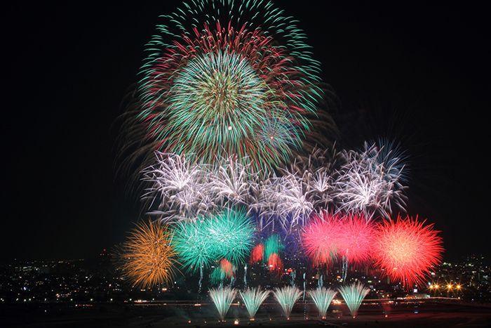 Lễ hội pháo hoa Sumidagawa tại Tokyo