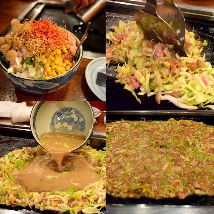 Monjayaki - món ăn không phải thực khách nào cũng dám thử