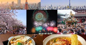 Tokyo - Trung tâm kinh tế, du lịch và ẩm thực của Nhật Bản