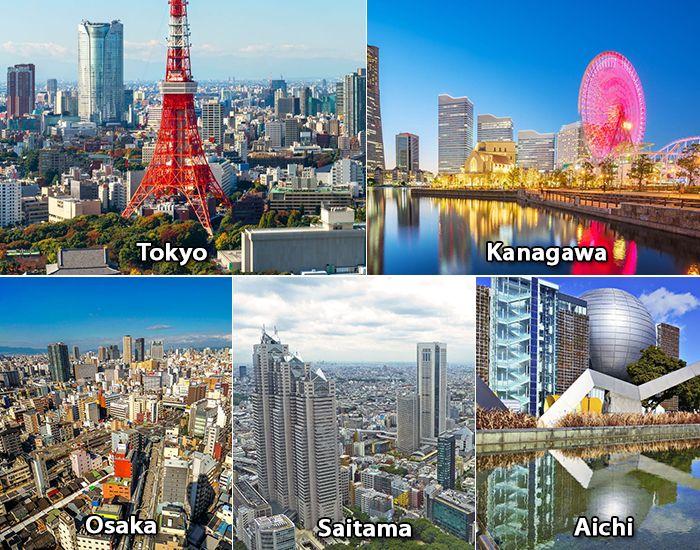 Tokyo, Kanagawa, Osaka là những thành phố có mức lương theo giờ cao nhất Nhật Bản