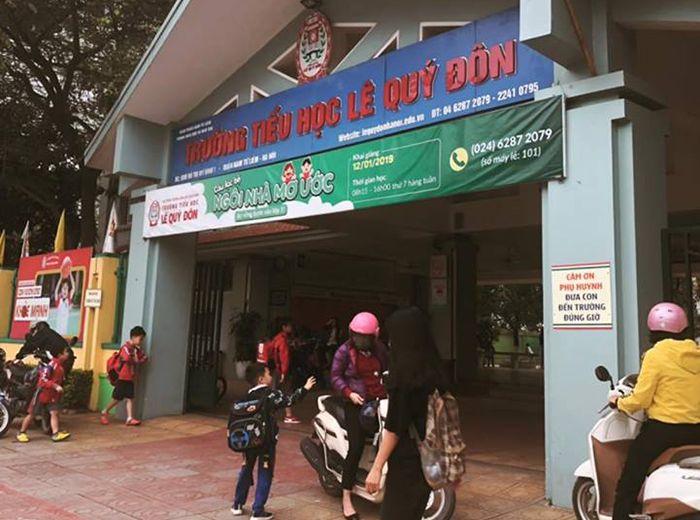 Trường tiểu học Lê Quý Đôn– 615 HS