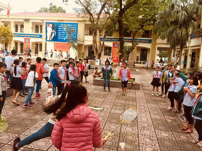Trường Tiểu học Xuân Đỉnh – Bắc Từ Liêm – 955 HS