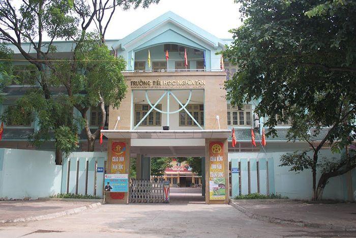 Trường tiểu học Nghĩa Tân – Cầu Giấy – 826 HS